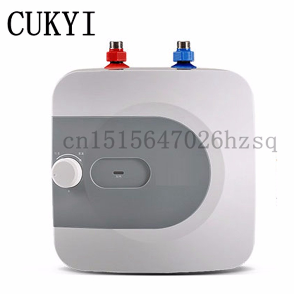CUKYI Instant electric water heater 1 grade Durable Security assurances Up and down 6.6L large capacity elektrische keukenkraan jakcom smart ring r3 hot sale in electric water heater parts as elektrische element rvs verwarming capacitor 10uf water power