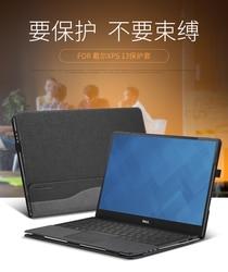Funda para Dell XPS 13 9380/9370/9360/9350/9365/9343 modelos cuero PU Folio soporte funda protectora para ordenador portátil Dell XPS 13,3 pulgadas
