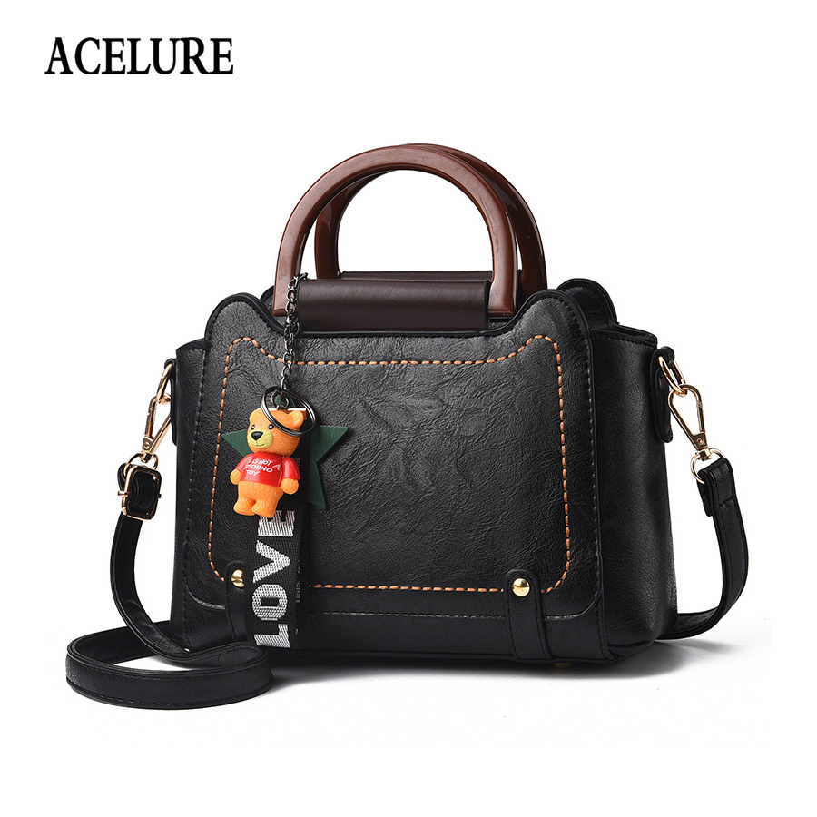 ACELURE Top-handle bags for women 2018 NEW Luxury PU leather