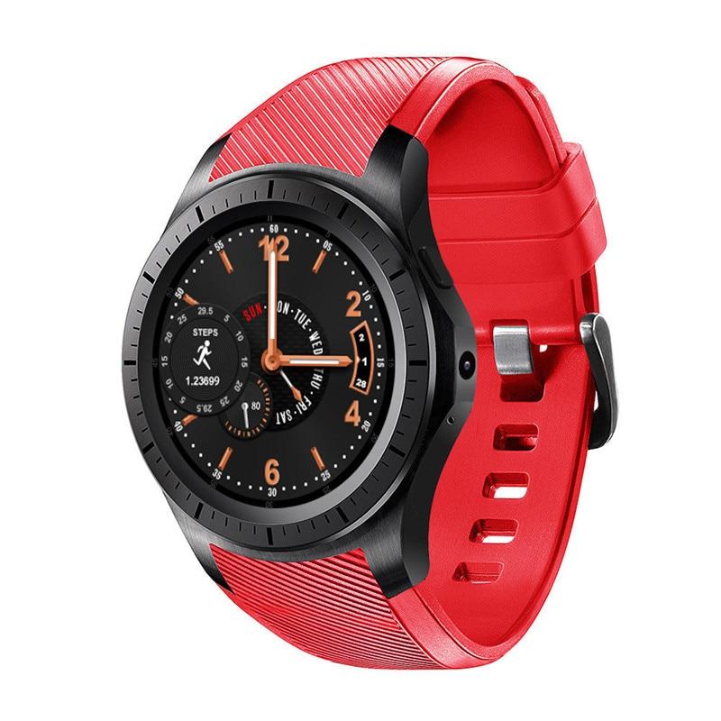 imágenes para Android 5.1 smartwatch dm368 plus mtk6572 512 MB + 4 GB con cámara GPS 3g frecuencia cardíaca vs samsung watch huawei watch k88h kw88 lem5