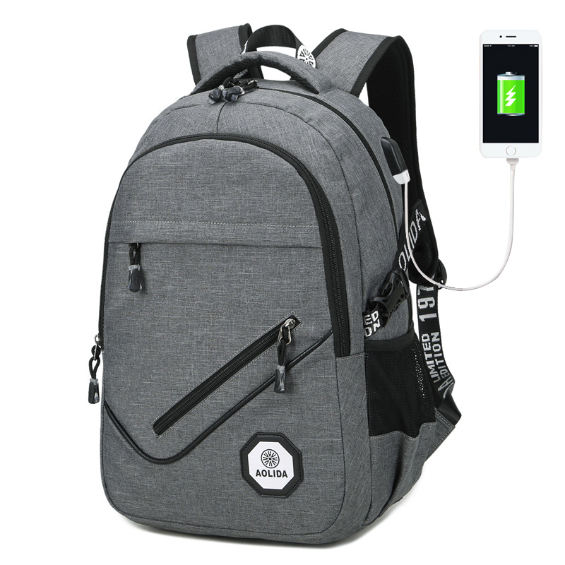 ФОТО External USB Charge Antitheft Notebook Backpack-B Design for Women Laptop Backpack Computer Bag beach bag