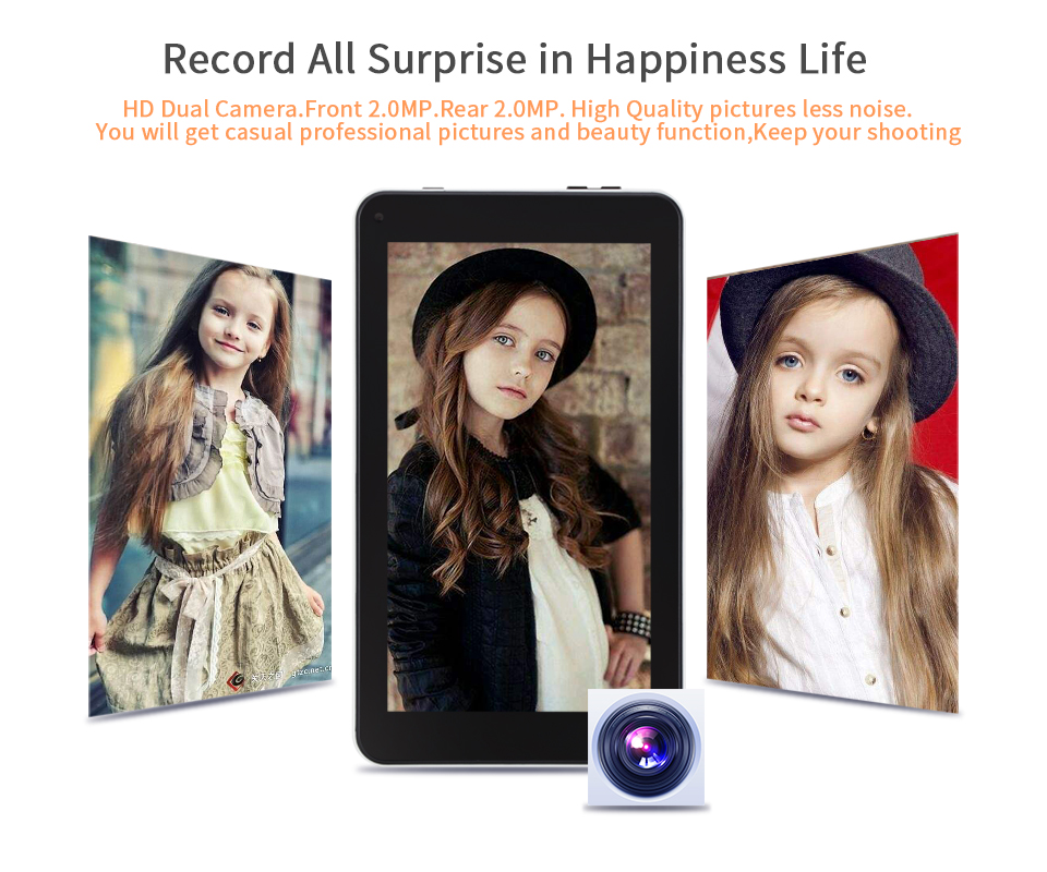 7 Inch Tablet Pc Aoson M753 Tablets 1gb+16gb Android 7.1 Quad Core Dual Cameras Bluetooth Wifi Multi Languages Tablets Promotion #4