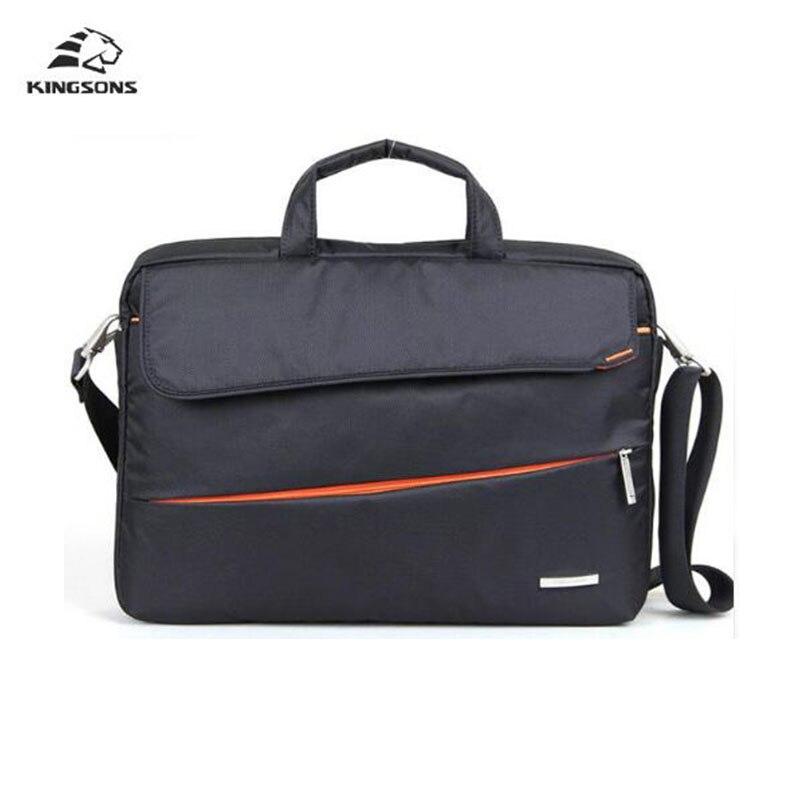 Kingsons Сумки Тетрадь ноутбук рукав Сумки чехол для Для мужчин Для женщин Портфели сумка 15.6 дюймов