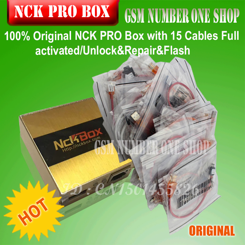 gsmjustoncct 2017 The Newest Original NCK Pro box NCK Pro 2 box support NCK UMT 2