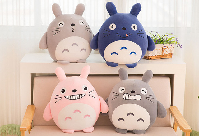 45cm my neighbor totoro pillow napping cushion giant totoro plush soft toys  dolls birthday gift f999506265