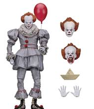 Action Figure NECA IT Pennywise toy IT Clown Model Collection Decor For Halloween Gift Stephen King's It(China)