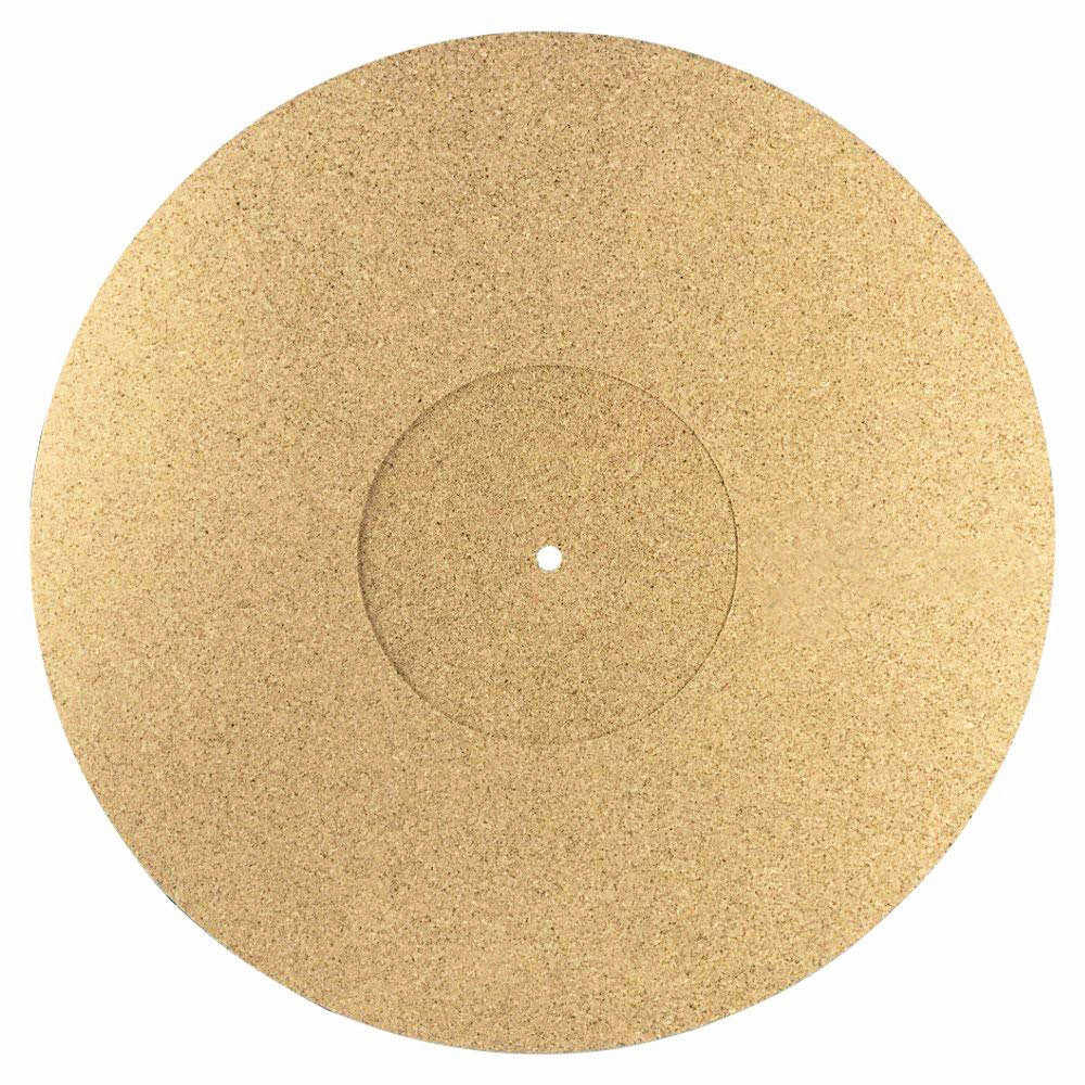 Корк проигрыватель тарелка коврик LP антискользящий коврик Audiophile мм 3 мм антистатический Slipmat для LP виниловая запись