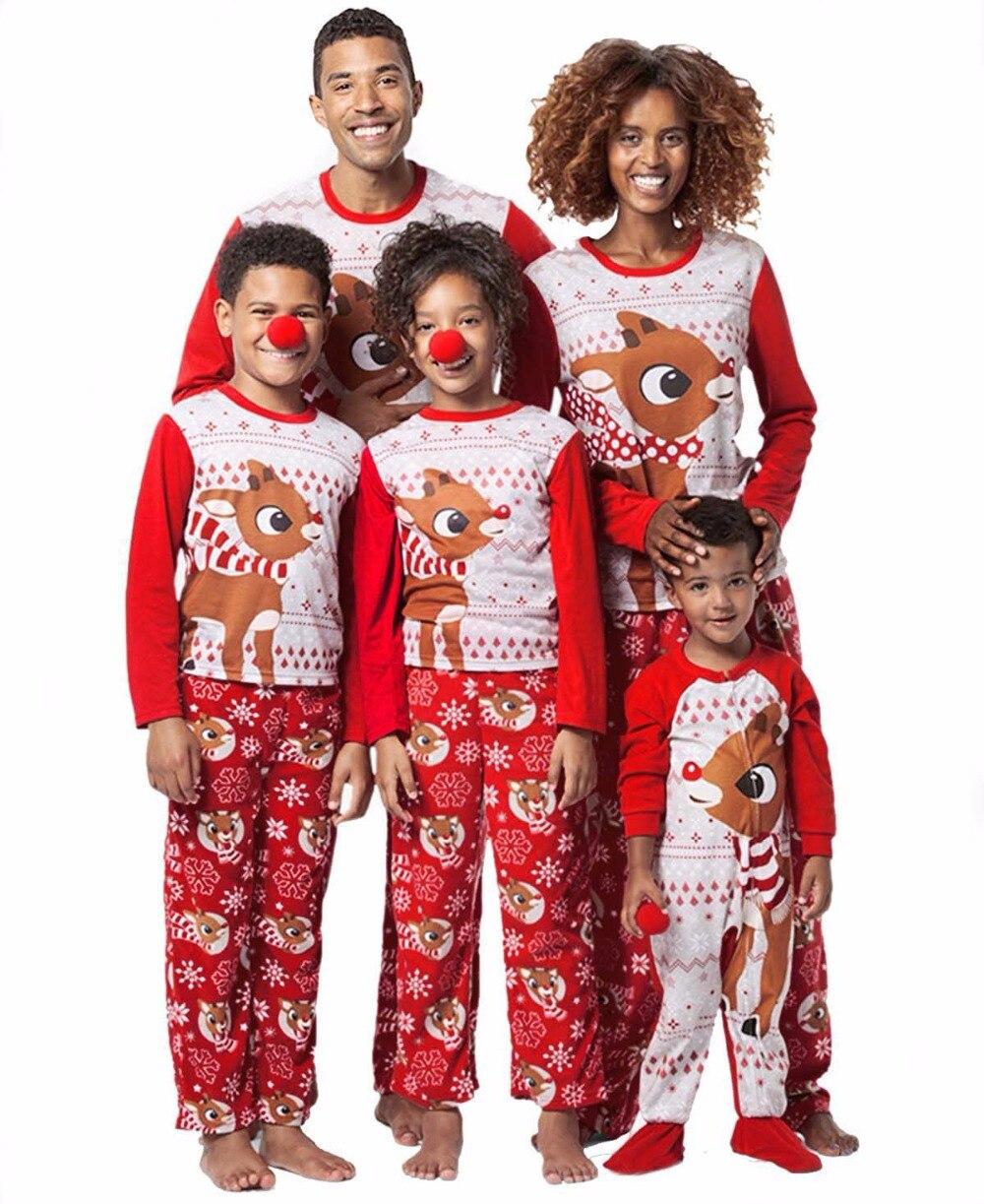 Family Pajamas Set Christmas Family Matching Clothes ...