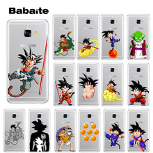 Babaite son of Goku Dragon Ball Cover Transparent Soft Shell Phone Case for Samsung S5 S6 S6 edge Plus S7 S8 S8plus S9 S9plus все цены