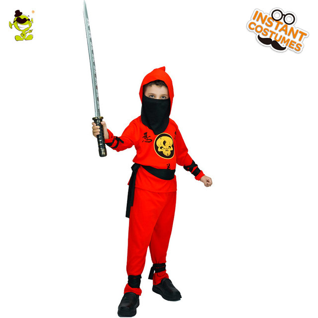 Red Ninja Costumes Halloween Party Japan Assassin Role Play Suit Kids Movie Character Naruto Imitation Clothes for Boysu0026Girls  sc 1 st  Aliexpress & Online Shop Red Ninja Costumes Halloween Party Japan Assassin Role ...