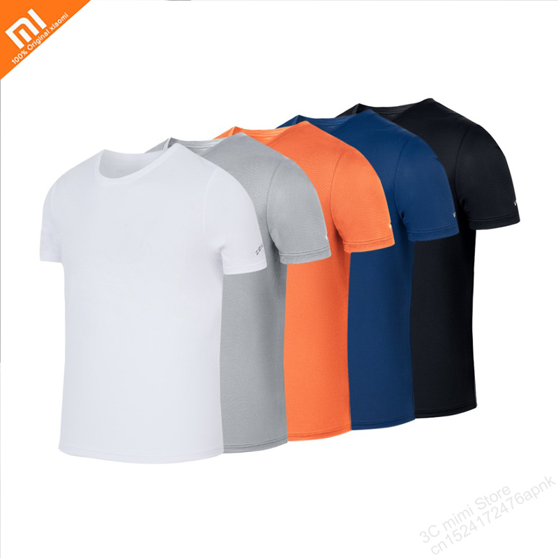Xiaomi Mijia 5 Color Man Quick-drying T-shirt Light Breathable Comfortable And Durable Exercise Fitness Summer Cool Smart Home