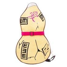 a49d76226fba Аниме Гаара из «Наруто» Косплей Тыква рюкзак из искусственной кожи Слинг  Сумка на плечо сумка Мужская детская Студенческая нагру.