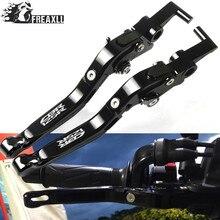 цена на Motorbike Accessories Motorcycle Brake Clutch Lever CNC Adjustable Folding Extendable For Honda CBR125R CBR 125R 125 R 2011-2014