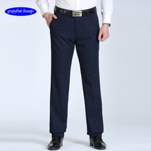 Grapefruit beauty Official Store 2019 Trousers summer casual pants loose mens breathable large size middle-aged business