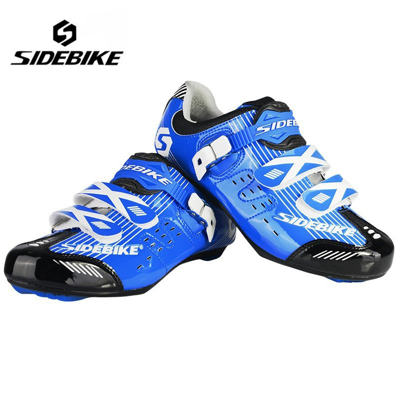 SIDEBIKE Professional Bicycle Cycling Shoes Men Road Bike Shoes Wear-resistance Ultralight Shoes Sapatilha Ciclismo Zapatillas west biking bike chain wheel 39 53t bicycle crank 170 175mm fit speed 9 mtb road bike cycling bicycle crank