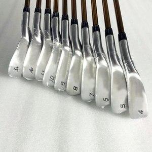 Image 5 - Nieuwe mensen Golfclubs set S 02 4 ster Golf irons set 4 11.Aw.Sw met irons clubs Golf Graphite shaft Cooyute Gratis verzending