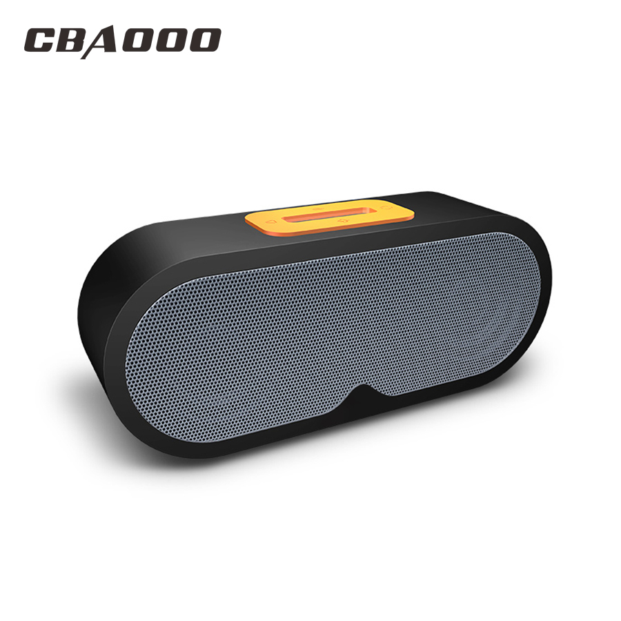 CBAOOO F1 Bluetooth Speakers Wireless Speaker Support 3.5mm interface TF Card with Microphone Voice Call for iphone Android