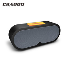 CBAOOO F1 Bluetooth Speakers Wireless Speaker Support 3.5mm interface TF Card with Microphone Voice Call for iphone Android(China)