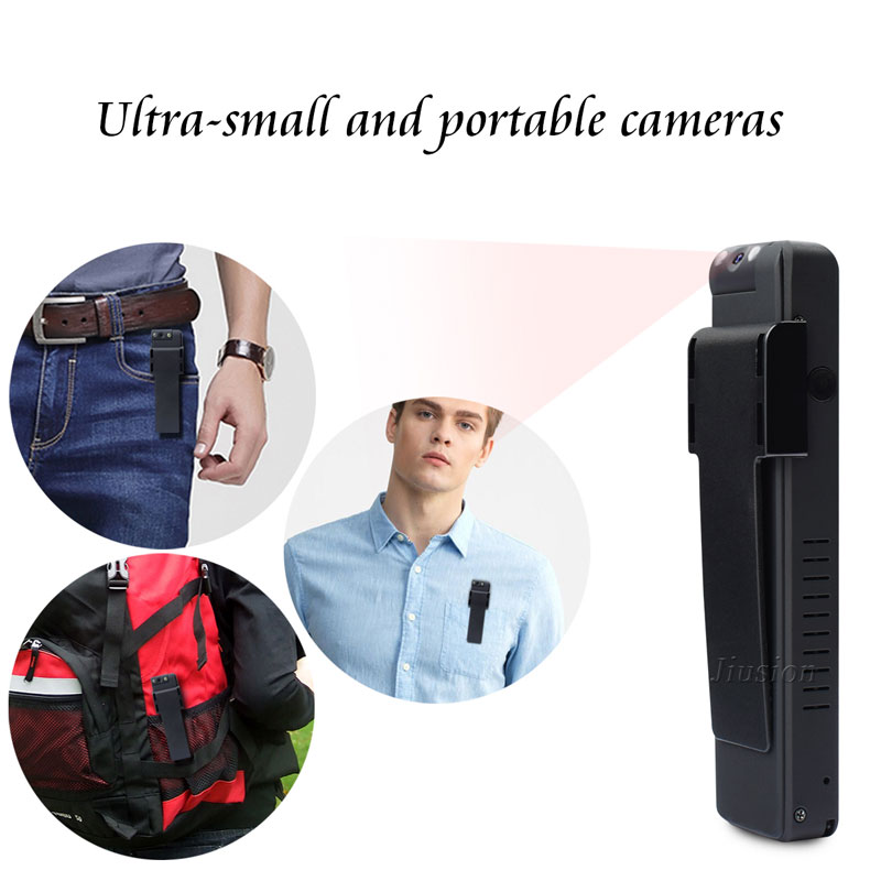 Full HD 1080P Mini Camcorder Digital Pen Recorder 360 Degree Motion Sensor Caindid Action Meeting Video Camera Professional Vlog