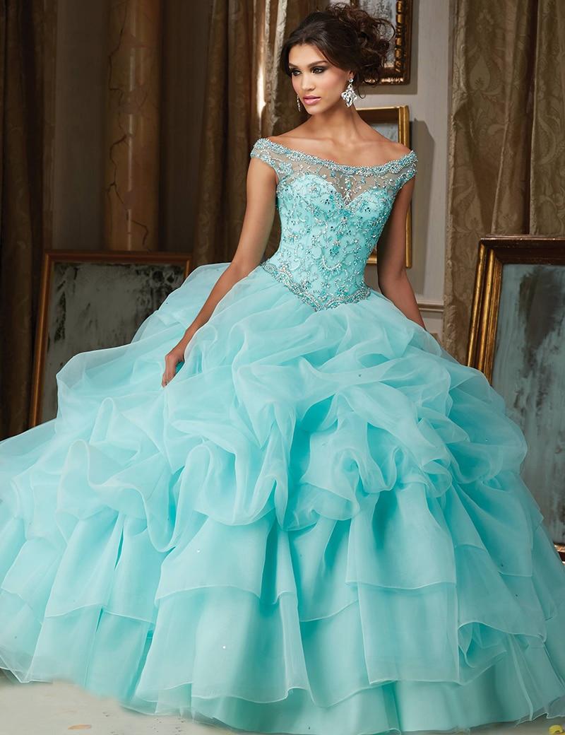 Online Buy Wholesale Aqua Quinceanera Dresses From China Aqua Quinceanera Dresses Wholesalers
