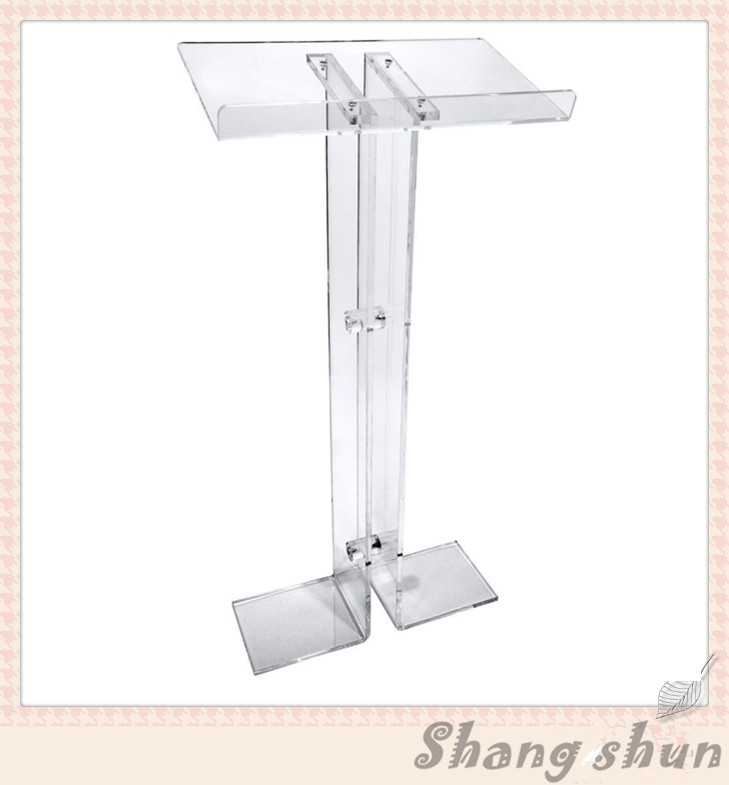 High Quality Price Pulpit Furniture Clear Acrylic Podium Pulpit Lectern Acrylic Pulpit Free Shipping