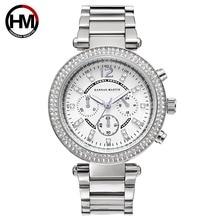Watch Women Luxury Brand Women Quartz Watches Silver Steel Ladies Watch Rhinestone Female Wristwatches reloj mujer Clock xfcs