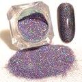 1 caja de 1.5g born pretty estrellado uñas de energía 9 colores holográfica láser manicura del arte del clavo del brillo del polvo de uñas glitters decoraciones