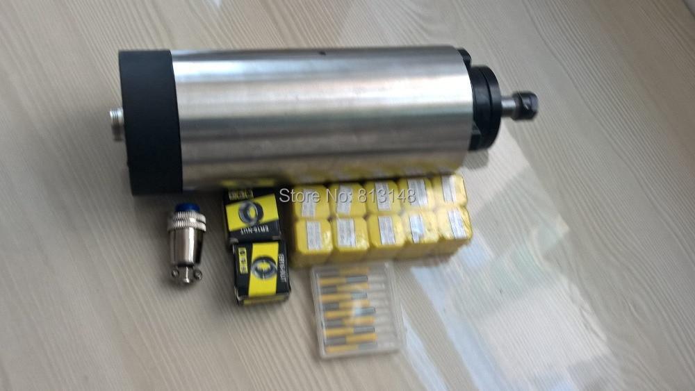 CNC orsókészlet, 1.5KW, ER16 léghűtéses orsómotor + 10 db ER16 - Szerszámgépek és tartozékok - Fénykép 4