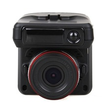 2 in 1 Night Vision Car DVR With Radar Detector + GPS Russian Pre-warning Data Recorder 720P 2.31 Inch Screen Video Recorder