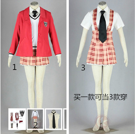 W Gakuen Girls Summer Uniform Cosplay Costume From Hetalia Axis Powers Cosplay Costumes