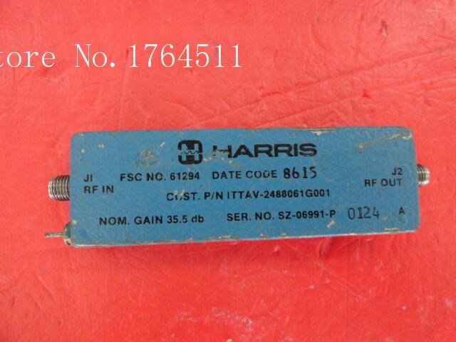 [BELLA] HARRIS ITTAV-2488061G001 7-18GHz SMA Supply Amplifier