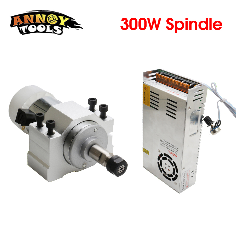 300w dc spindle motor 52 mm clamp send four screws power supply moter shalf collet chuck