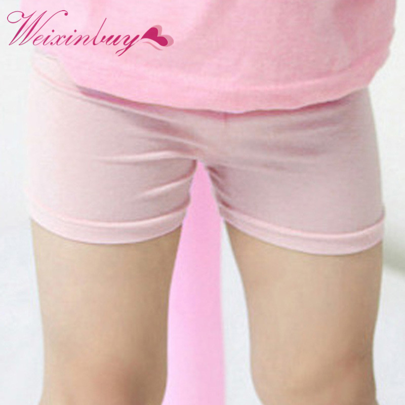 Baby Kids Girls Summer Style Casual Pants Leggings Skinny Stretch Safety Shorts Best