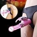 Multi-speed Strapon Dildo Vibrator Harness Adult Sex Products Penis Belt Strap On Jack Rabbit Dildos Vibrator Lesbian Sex Toys