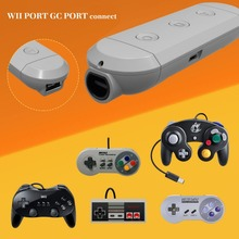 Multi Port Adapters Wireless GC Converter Wireless Adapter For Switch For NES SNES SF-C Classic Edition Wii Classic For Nintendo