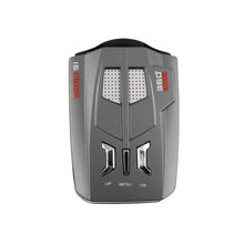 2016 new V9 12V Car Detector LED Display Russia / English X K NK Ku Ka Laser Anti Radar Detector hot sale