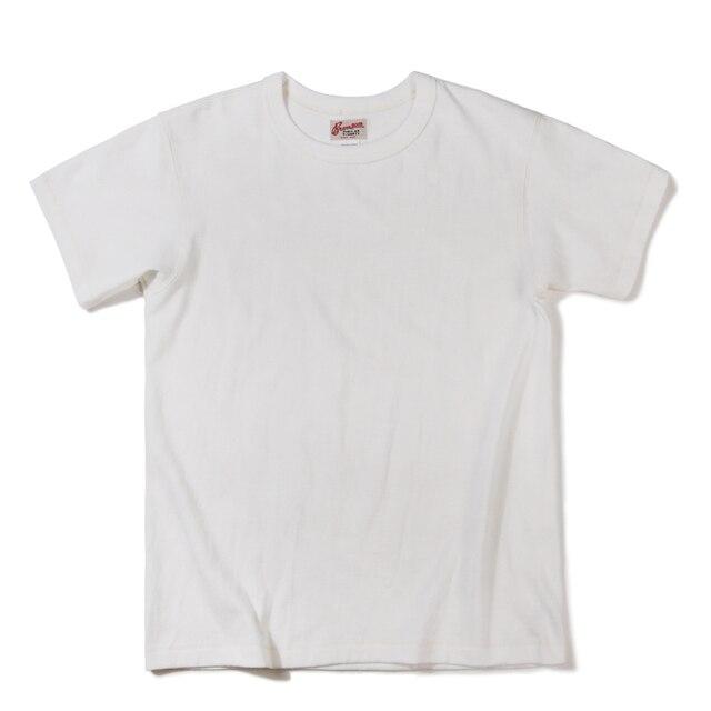 ברונסון צינורי חולצות במשקל כבד קצר שרוול צוות צוואר קיץ גברים של בסיסית טי