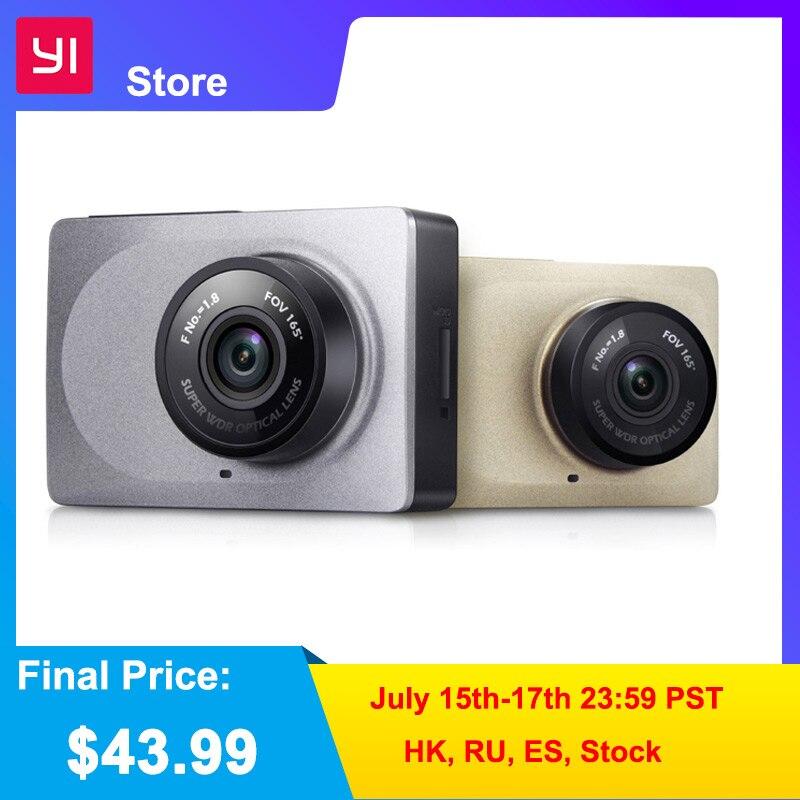 YI Smart Dash Kamera Video Recorder WiFi Volle HD Auto DVR Cam Nachtsicht 1080P 2,7 165 Grad 60fps ADAS Sichere Erinnerung