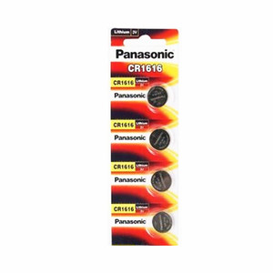 4Pcs/Lot Panasonic 100% Original CR1616 Button Cell Battery For Watch Car Remote Key cr 1616 ECR1616 GPCR1616 3v Lithium Battery(China)