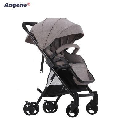 Engelhard crianças alta paisagem carrinho de bebê leve guarda-chuva dobrável carro pode sentar ou deitar strolllivery suspensão crianças