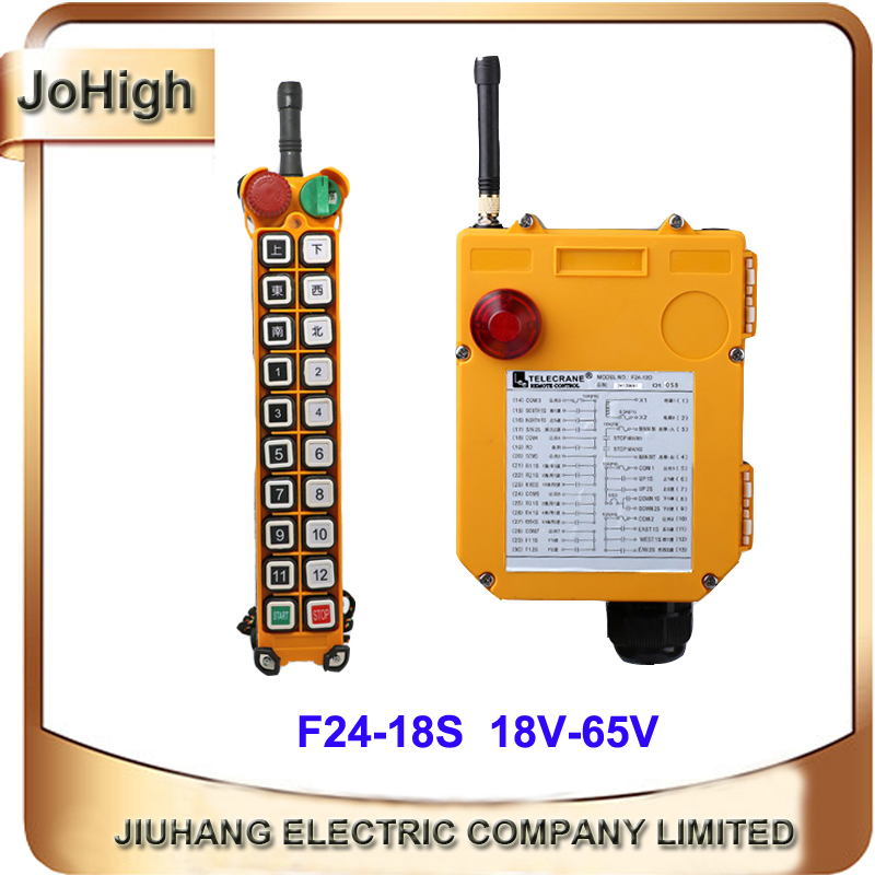 Factory Supply Single Speed Industrial Remote Control AC/DC Universal Wireless for Hoist Crane 1 transmitter + 1 receiver nice uting ce fcc industrial wireless radio double speed f21 4d remote control 1 transmitter 1 receiver for crane