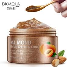 Almond Plant Extracts Essence  Body Exfoliating Scrub Gel De