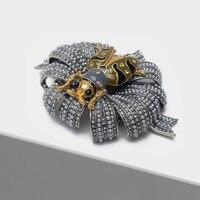 Amorita boutique Beetle design brooch retro insect brooch