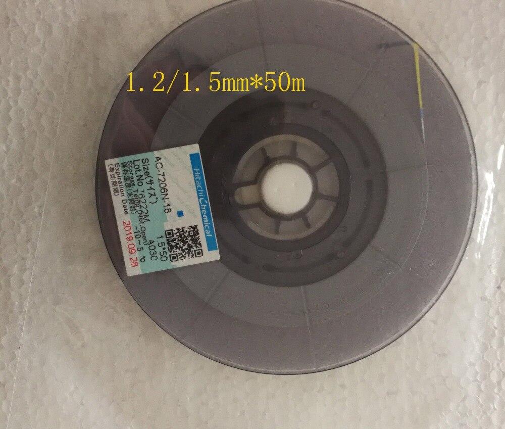 New Date Original ACF Tape AC 7206N 18 For High Density LCD Glass Panel Repair Conductive
