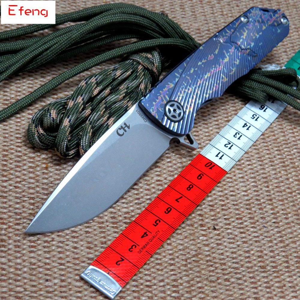 Efeng CH 3501 tactical folding knife D2 steel ball bearings handle survival camping knife flip fixed folding knife outlife new style professional military tactical multifunction shovel outdoor camping survival folding spade tool equipment