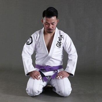 Tela de algodón para entrenamiento Jiu Jitsu GI, 100% brasileño, BJJ