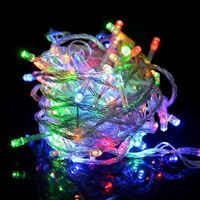 RGB 80 LED 10M String Fairy Lights Christmas Wedding Xmas Tree Party Garden Free Shipping