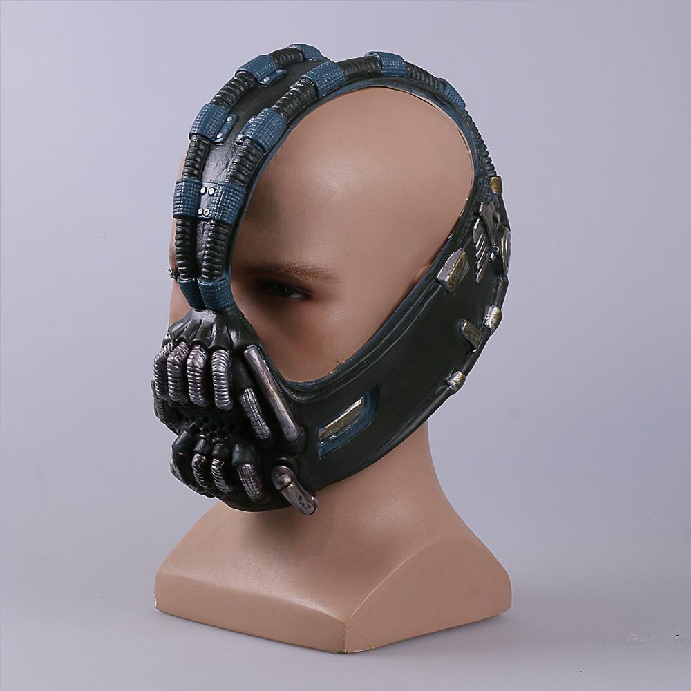 Bane mask Batman Dark Knight Horror Mask Halloween Costume Ball bane Helmet Mask Latex (6)