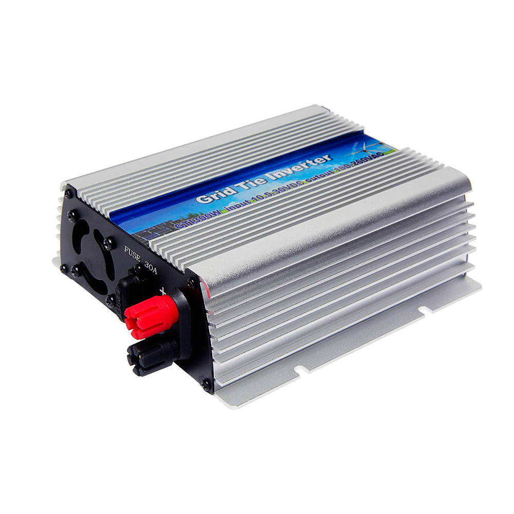 цена на MAYLAR@ 300W Solar Pure Sine Wave Grid Tie Inverter DC 10.5-30V AC 180-260V For Vmp18V Panels Home Solar Energy System