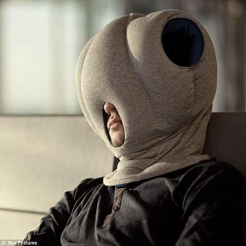 Hot sales magic pillow neck protecting office guard nap